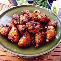Ножки куриные в соусе барбекю (на 3-4 персоны)