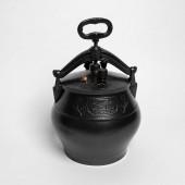 Афганский казан 5 литров черный