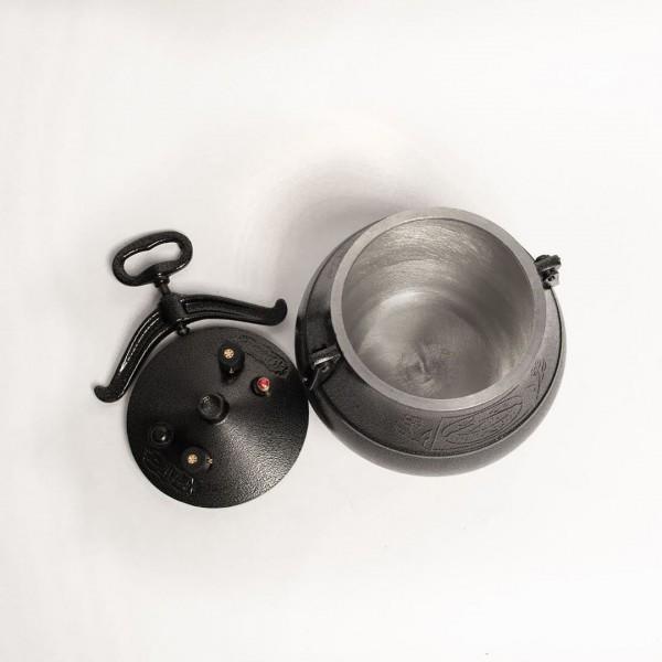 Афганский казан 8 литров черный
