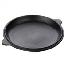 Чугунная крышка-сковорода для казана 16 л
