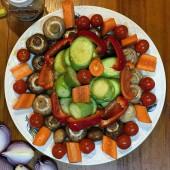 Насыщенный витаминами гарнир из овощей