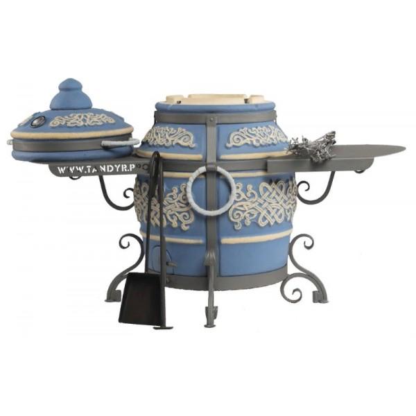 Тандыр Тамерлан (Морская волна) с двумя столиками