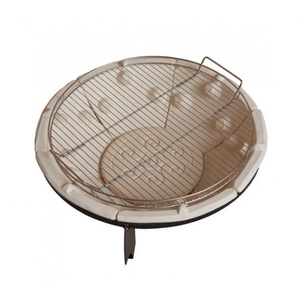 Решетка-гриль для костровницы